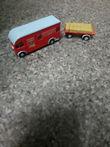 OO Scale Code 3 Harrington Horsebox And Trailer With Hay Chipperfields Circus