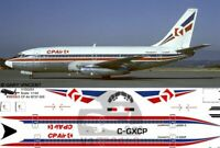 V1 Decals Boeing 737-200 CP Air for 1/144 Airfix Model Airplane Kit V1D0253