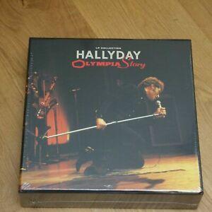 JOHNNY HALLYDAY - COFFRET OLYMPIA STORY - 14 VINYLS-NEUF-SCELLE AVEC CARTON!!!!