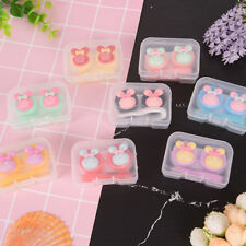 Lovely S multicolor mini portable contact lens case holder contact lenses box-y