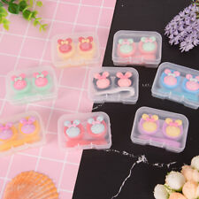 Lovely S multicolors mini portableContact lens cases holder contact lenses bYXFR