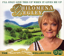 PHILOMENA BEGLEY COLLECTION - I'LL ONLY GIVE THIS UP WHEN IT GIVES ME UP- CD/DVD