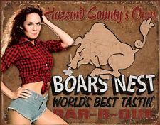 Dukes of Hazzard - Boars Nest Tin Sign - 16x12.5