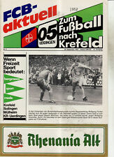 BL 84/85 Bayer 05 Uerdingen - VfB Stuttgart