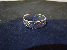 NEW PURE SILVER .999 BULLION SZ6 WOMENS RING MADE BY ANARCHY P.M. JEWELRY #E340