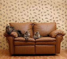 Cats, Cats, Cats Stencil - Reusable Stencil for DIY Walls, Fabrics, and Crafts