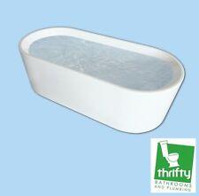 New Caroma Aura Freestanding 1600 Bath White Code: AU6W