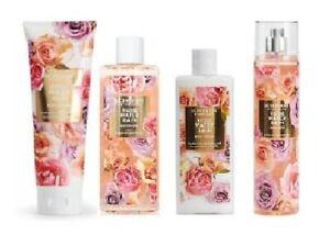 Scentworx Rose Water Rain Fragrance Set - Cream, Shower Gel, Lotion & Mist