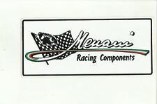 ADESIVO VINTAGE STICKER menani racing components
