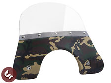 VESPA QUALITY TSR Camo Camouflage Flyscreen PX/LML/T5 Stainless Fixings 125/200