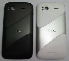 HTC Sensation G14 Akku Deckel RückSchale Gehäuse Battery Cover schwarz/grau weiß
