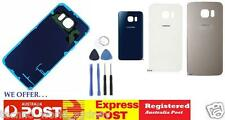 Samsung Galaxy S6 & Edge Back Rear Glass Housing Battery Replacement Cover Case