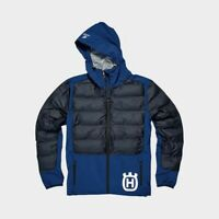 Husqvarna Motorcycles Sixtorp Hybrid Jacket Black Blue Lightweight Jacket New