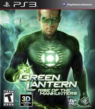 Green Lantern: Rise of the Manhunters PS3 New Playstation 3