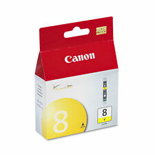 Genuine Canon 8 CLI8-Y Yellow Ink Tank For Canon Pixma iP3500 New Sealed