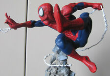Spiderman Original Kotobukiya REPAINTED, Cold Cast Statue, Fine Art