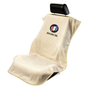 Seat Armour Front Car Seat Cover For Buick - Tan Terry Cloth
