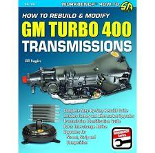 SA Designs SA186 Book - How To Rebuild & Modify GM Turbo 400 Transmissions TH400