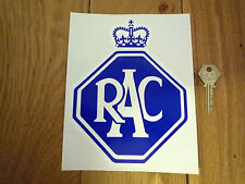 "RAC GARAGE Old Style STICKER Automobilia 8"" Classic Car Vintage Workshop Sign"