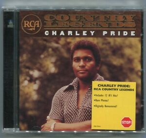 CD Charley Pride: Country Legends (RCA)