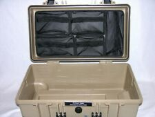 New Desert Tan Armourcase 1510 empty no foam + Lid Organizer nameplate case