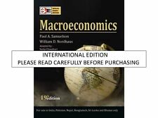 Macroeconomics, 19th ed. by Paul A. Samuelson, William D. Nordhaus & Sudip Chaud