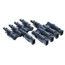 MC4 Stecker Solar Parallel Verbindungsstecker Buchse Solarkabel 4-6mm 30A 4Fach