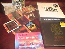 THE BAND JAPAN REPLICAS CD BOX + 5 CDS LIVE BOX + 9 LP BOX + WALTZ 6 LP BOXSETS