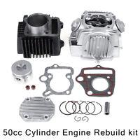 39mm 50cc Cylinder Piston Engine Rebuild For Honda XR50 CRF50 Z50R Z50 Dirt Bike