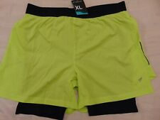 New listing Workout 2 in 1 extra large shorts gym running sports fitness style 36 38 waist