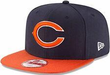 Men's New Era NFL 2016 Bears 9Fifty Sideline Snapback Cap Navy/Orange