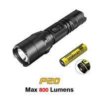 NiteCore P20 CREE XM-L U2 LED Tactical Flashlight Torch + 3500mAh USB Battery