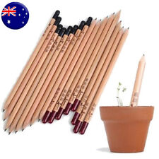 8 PCS/Set Sprouting Bud Sprout Pencil Plant Herb Basil Tomato Green Pepper AU
