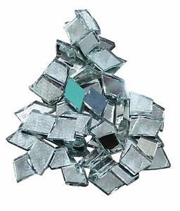 Mirror Mini Diamond Shape Small Glass Mirror For Home Decorative 40 Pieces MR04