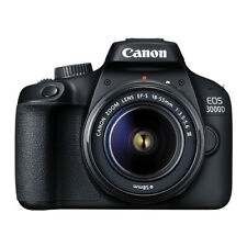 Cámara SLR Canon EOS 3000D 18.0 MP Digital con lente 18-55mm EF-S f/3.5-5.6