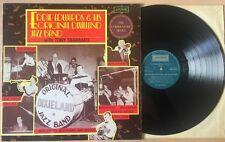 "Eddie Edwards & His Original Dixieland Jazz Band Tony Sbarbaro 12""  LP - EX/VG"