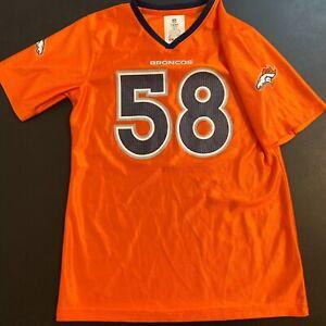 Von Miller Denver Broncos NFL Football Jersey - Youth Girls Size XL (14/16)
