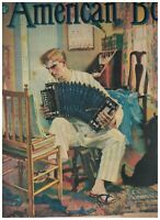 American Boy Magazine May 1939 Bicyclists Scottish Terrier Scottie Dog Accordion