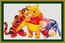 Winnie l'ourson et amis cross stitch kit