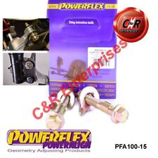Fits MR2 SW20 REV 1 89-91 Powerflex PowerAlign Camber Bolt Kit 15mm PFA100-15