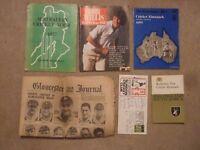 bob willis england surrey & warwicks benefit year testimonial brochure 1981