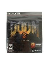 Doom 3: BFG Edition - PS3 - Playstation 3 Sealed With Poster Free Shipping
