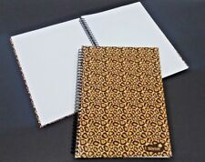 A4 SILVINE SPIRAL BOUND CHEETAH HARDBACK NOTE BOOK 140 PAGES RULED & PERFORATED