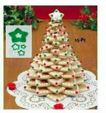 Tree Cookie Cutter Kit 15-Piece Set w/ Frosting Bags Tips