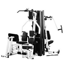 Body-Solid EXM3000LPS Double Stack Commercial & Home Gym with Leg Press Machine