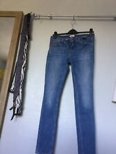 tommy hilfiger jeans size 27 waist 29 leg 30 they are skinny