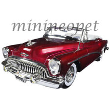 MOTORMAX 73129 1953 BUICK SKYLARK CONVERTIBLE 1/18 DIECAST MODEL CAR BURGUNDY