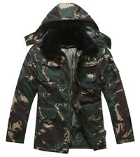 07's series China PLA Special Forces Digital Camo Combat Winter Cotton Overcoat