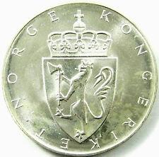 1964 Gem BU Toning Beautiful  #413 Stock Picture   IR1372 Norway 10 Kr ND