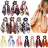Boho Ponytail Scarf Bow Elastic Hair Rope Tie Scrunchies Ribbon Hairtie Bands AU